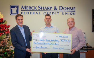 Merk Sharp & Dohme Federal Credit Union Donation