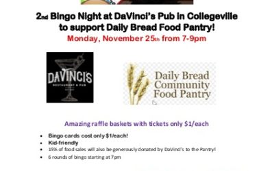 2nd Annual Bingo Night at DaVinci's Pub