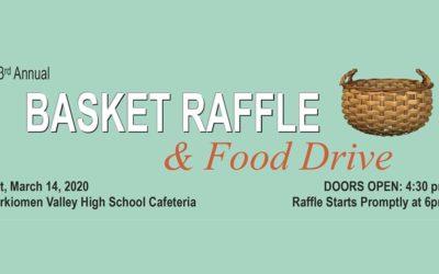 3rd Annual Basket Bash & Food Drive